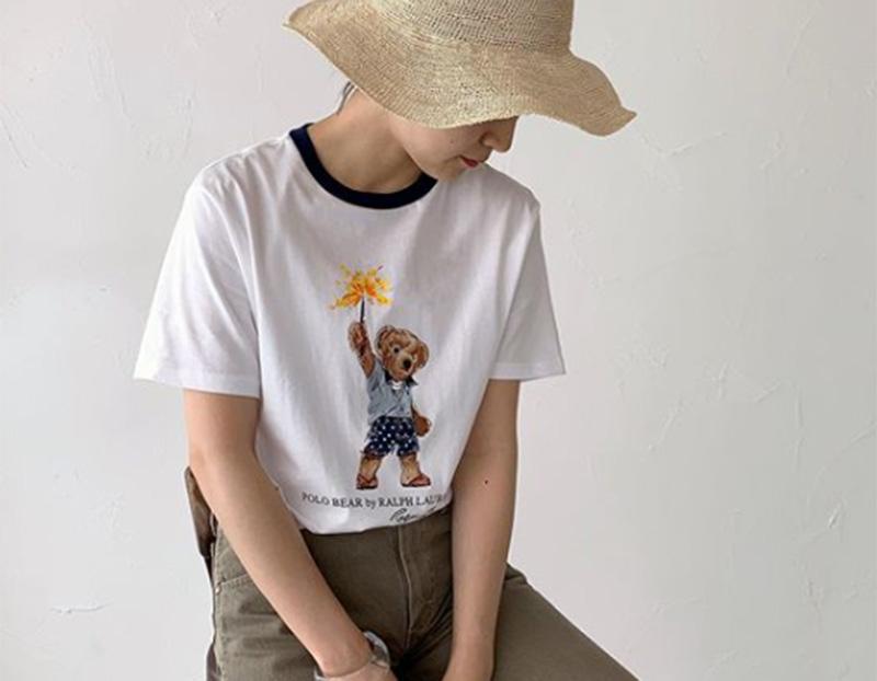 ポロベアTシャツ